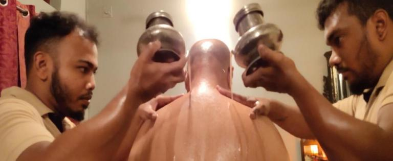 soin ayurveda huile