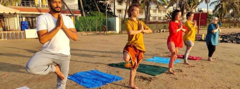 stage yoga Inde - Soleil d'Or