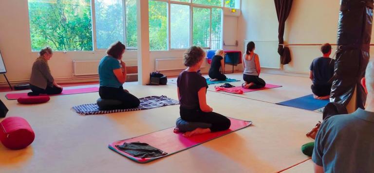 cours de yoga au Soleil dOr