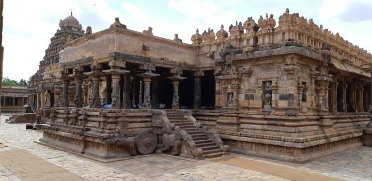 Temple dans le Tamil Nadu